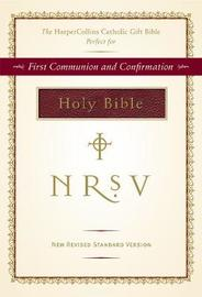 NRSV, The HarperCollins Catholic Gift Bible, Imitation Leather, Burgundy by Thomas Nelson