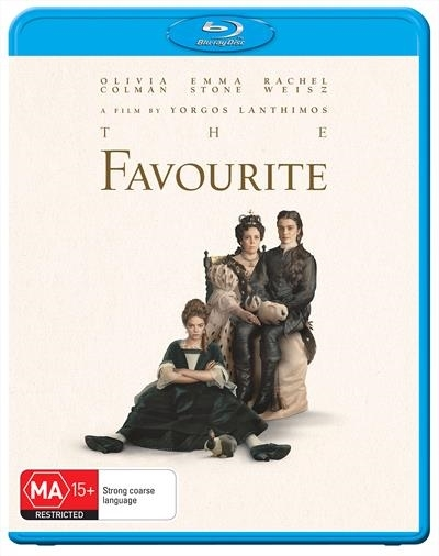 The Favourite on Blu-ray