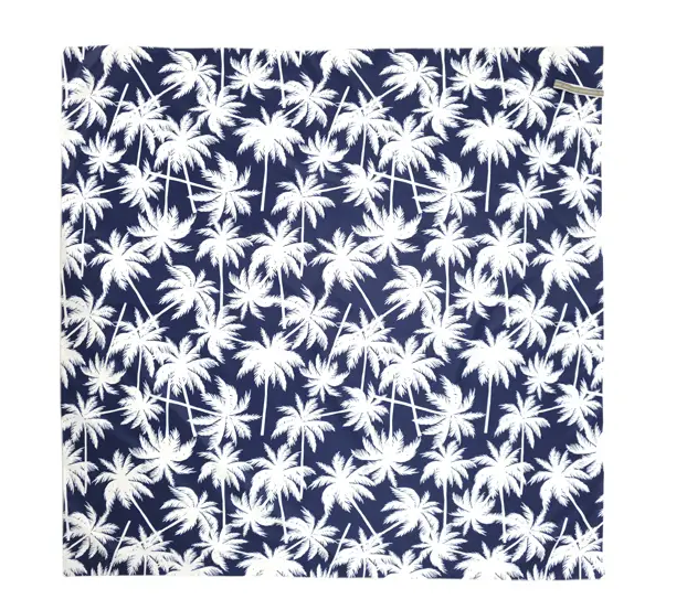 Annabel Trends: Easy Wipe Picnic Mat - Palm Navy