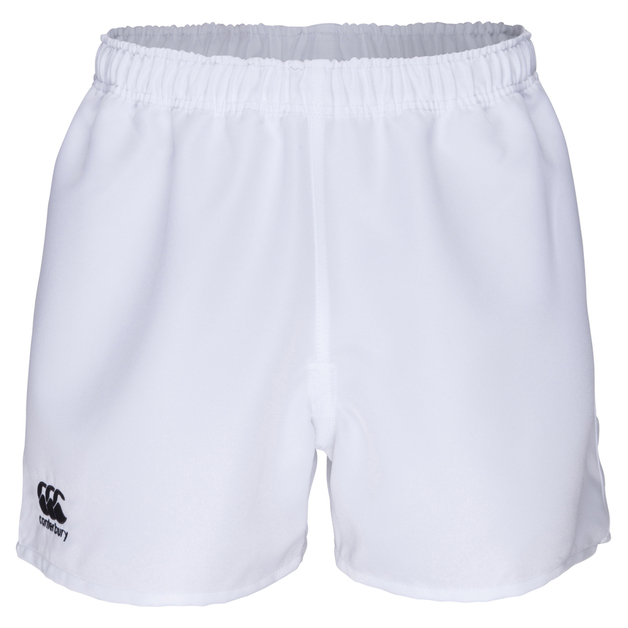 Professional Polyester Short - White (XS)