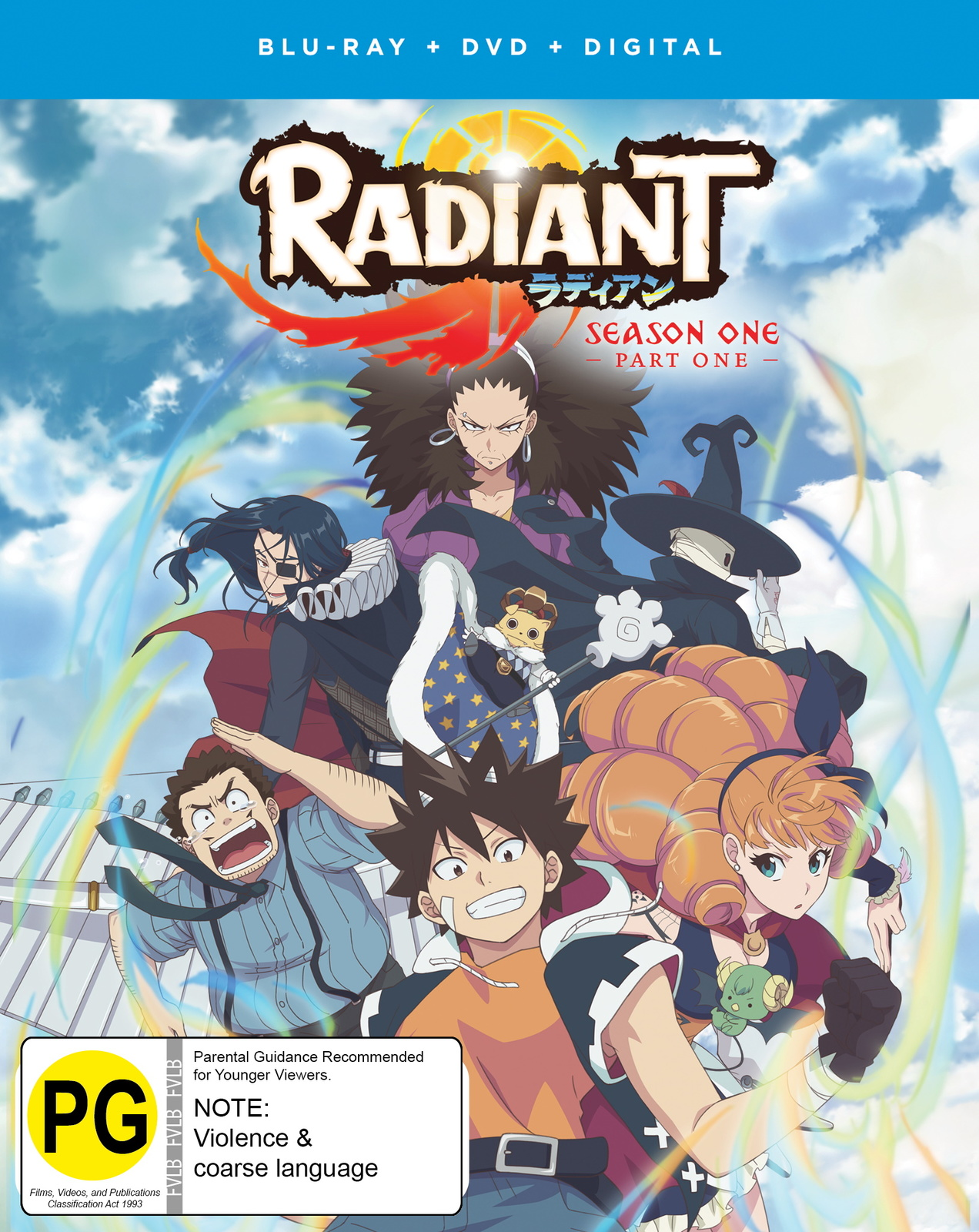 Radiant - Part 1 (DVD/Blu-ray Combo) on Blu-ray image