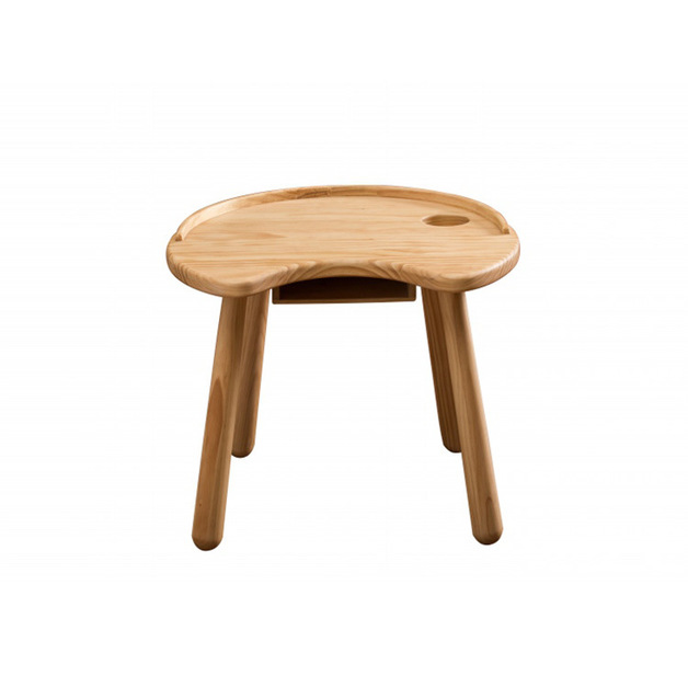 Natural Solid Pine Wood Children's Table