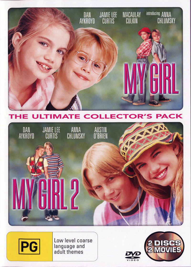 My Girl 1 & 2 Pack on DVD image