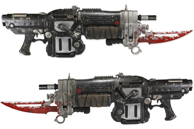 Gears of War 3 Retro Lancer Replica