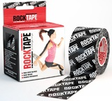 RockTape Active Recovery Series - Black Logo (5cm x 5m)