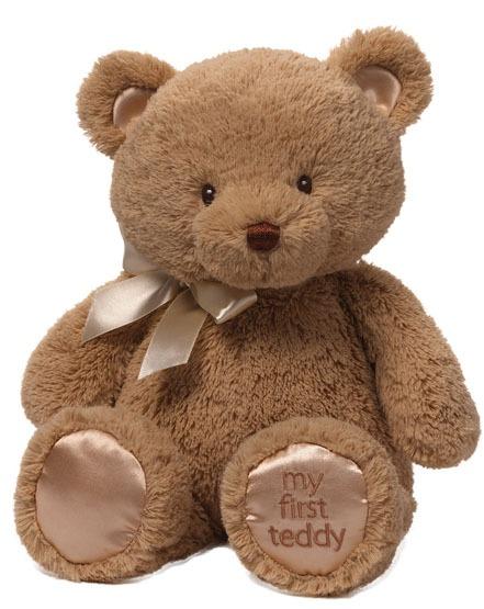 Gund: My First Teddy - Tan image