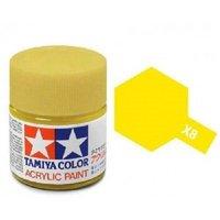 Tamiya Acrylic: Lemon Yellow (X8)
