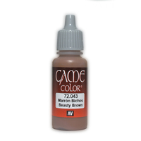 Vallejo Game Colour Beasty Brown 17ml