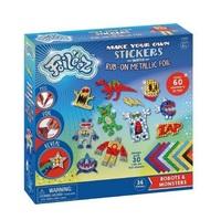 Foileez: Sticker Pack - Robots & Monsters
