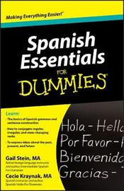 Spanish Essentials for Dummies by Gail Stein