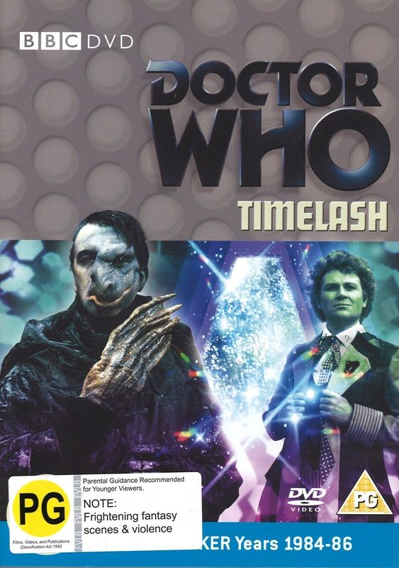 Doctor Who: Timelash on DVD