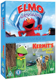 The Adventures of Elmo in Grouchland/Kermit's Swamp Years on DVD