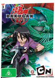 Bakugan Battle Brawlers - Vol. 3 on DVD