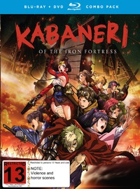 Kabaneri of the Iron Fortress: The Complete Series on DVD, Blu-ray