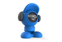 iDance Beatdude Bluetooth Wireless Speaker- Blue
