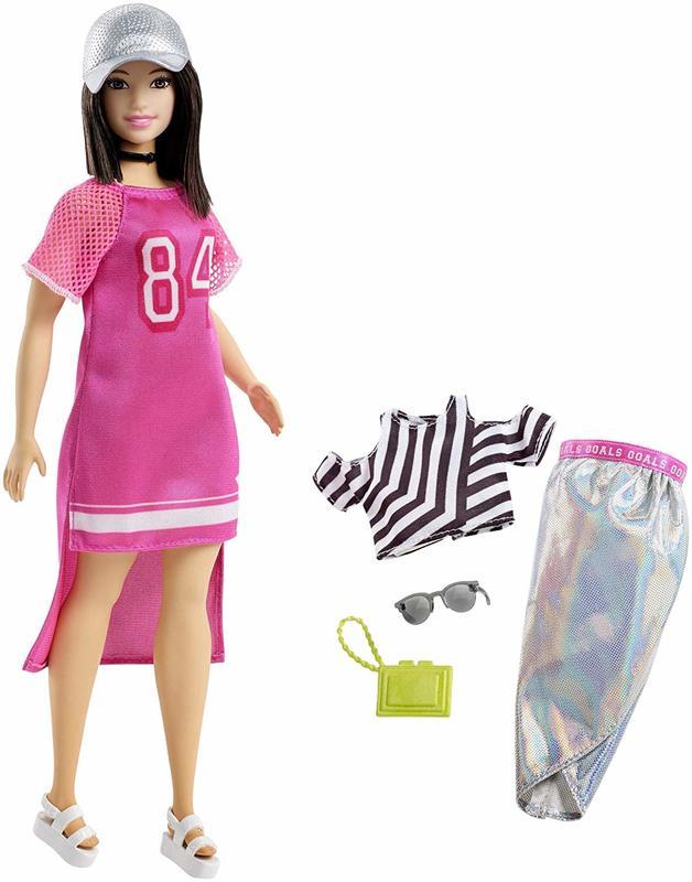 Barbie: Fashionistas Doll - Hot Mesh