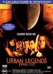 Urban Legend 2: The Final on DVD