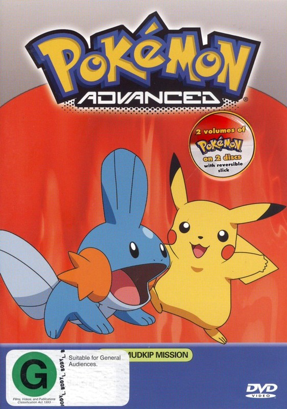 Pokemon - Advanced 6.10 / 6.11 (2 Disc Set) on DVD