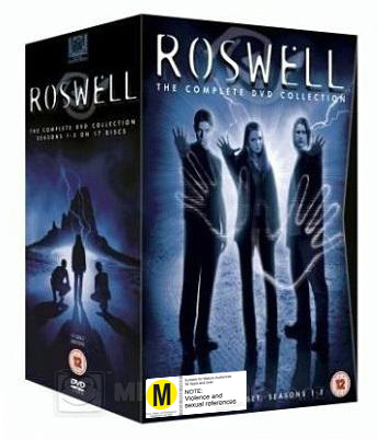 Roswell - The Complete DVD Collection Box Set on DVD