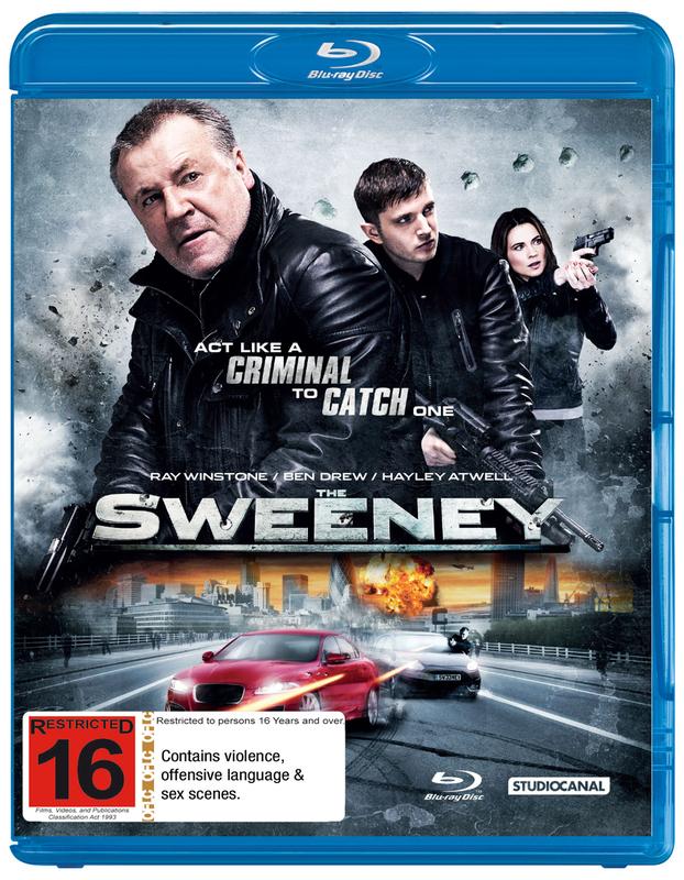 The Sweeney on Blu-ray