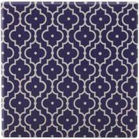 Maxwell & Williams Medina Ceramic Square Tile Coaster - Taza (9cm)