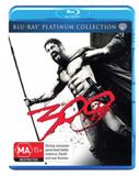 300 - Platinum Collection on Blu-ray