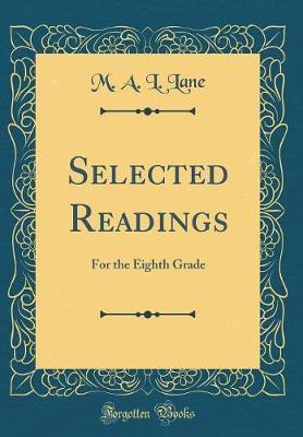 Selected Readings by M a L Lane image