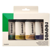 Reeves: Additive Acrylic - 4 Pack (75ml)