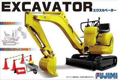 Fujimi: 1/32 Mini Excavator - Model Kit