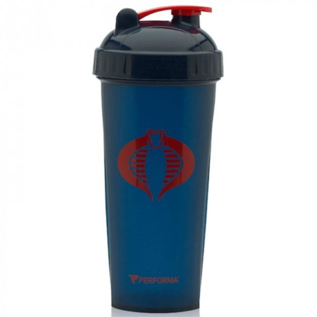 Performa: G.I Joe Series Shaker - Cobra Blue (800ml)