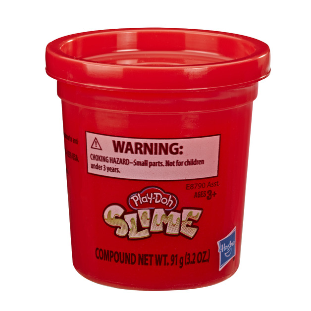Play-Doh Slime - Red (Single Can)