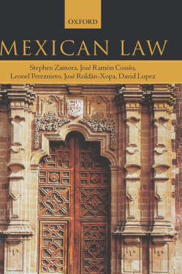 Mexican Law by Stephen Zamora image