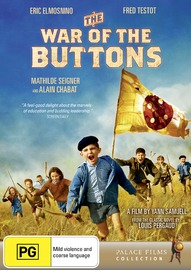 The War of the Buttons on DVD image