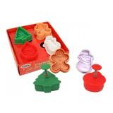 Mini 3D Xmas Cookie Cutter Set