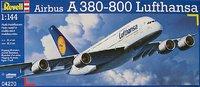 "Revell Airbus A380 ""Lufthansa"" 1:144 Model Kit"