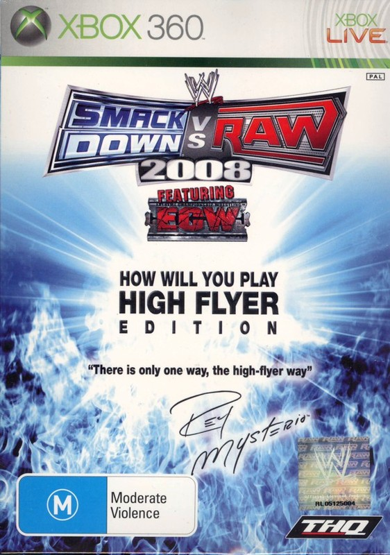 "WWE SmackDown! vs. RAW 2008 ""High Flyer"" Edition for Xbox 360"