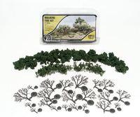 Woodland Scenics Med Green Tree kit (6 pack)