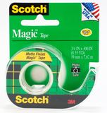 Scotch 122 Magic Tape on Dispenser 19mm x 16.5m