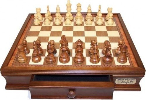 "Dal Rossi 16"" Chess Set"