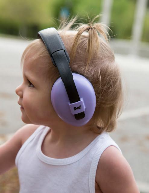 Baby Banz Mini Muffs (Lilac) image