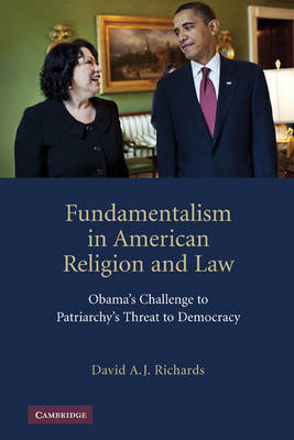Fundamentalism in American Religion and Law by David A.J. Richards image