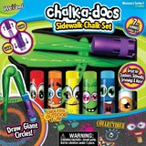 Chalk-A-Doos: Sidewalk Chalk Set - 7 Piece Set