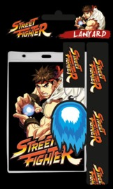 Street Fighter: Lanyard with Rubber Keychain - Ryu