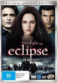 The Twilight Saga - Eclipse (2 Disc Set) on DVD