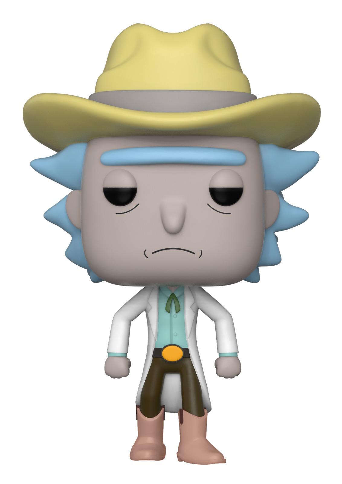 Rick & Morty - Western Rick Pop! Vinyl Figure image