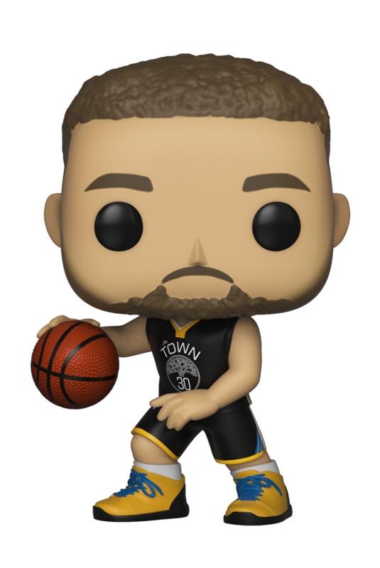 NBA: Warriors - Stephen Curry Pop! Vinyl Figure