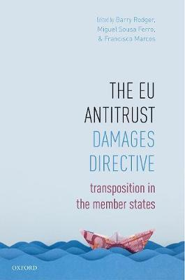 The EU Antitrust Damages Directive by Barry Rodger image