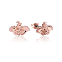 Couture Kingdom: Disney Dumbo Stud Earrings - Rose Gold