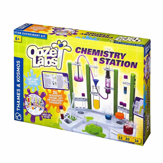 Ooze Labs: Chemistry Station - Science Kit