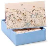 Butterflies Note Cards (14 Cards/Envelopes) image
